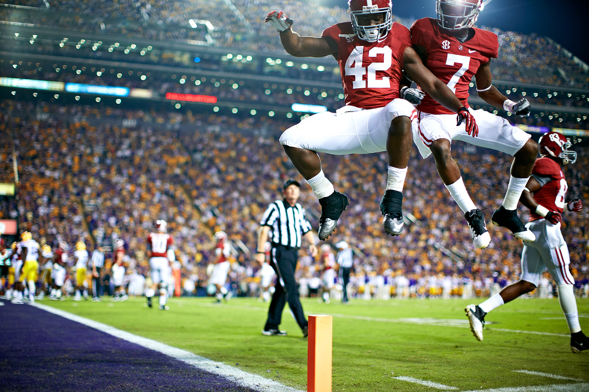 2048x1365 Eddie Lacy and Kenny Bell - LSU-Alabama: One Day, One Helluva Game - ESPN