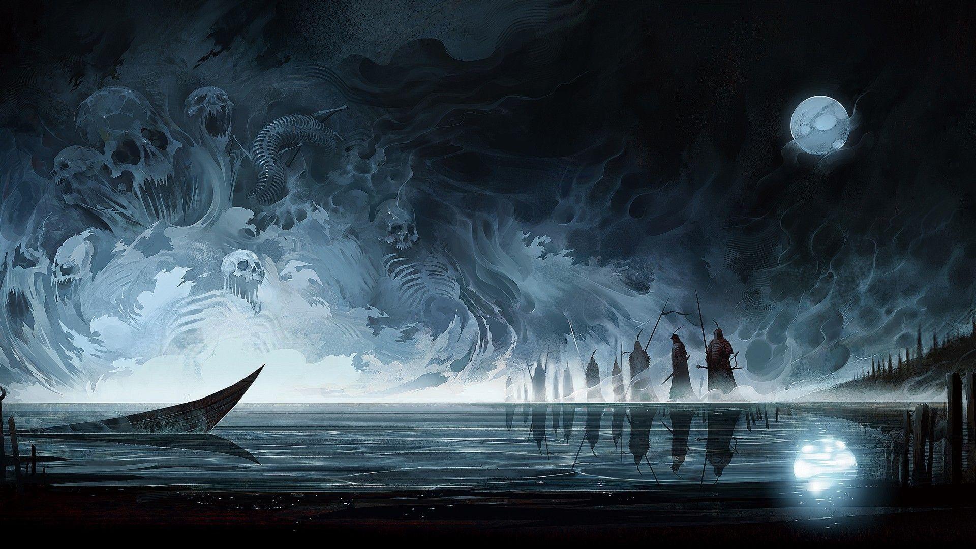 Dark fantasy wallpaper hd 69 images - Fantasy desktop pictures ...