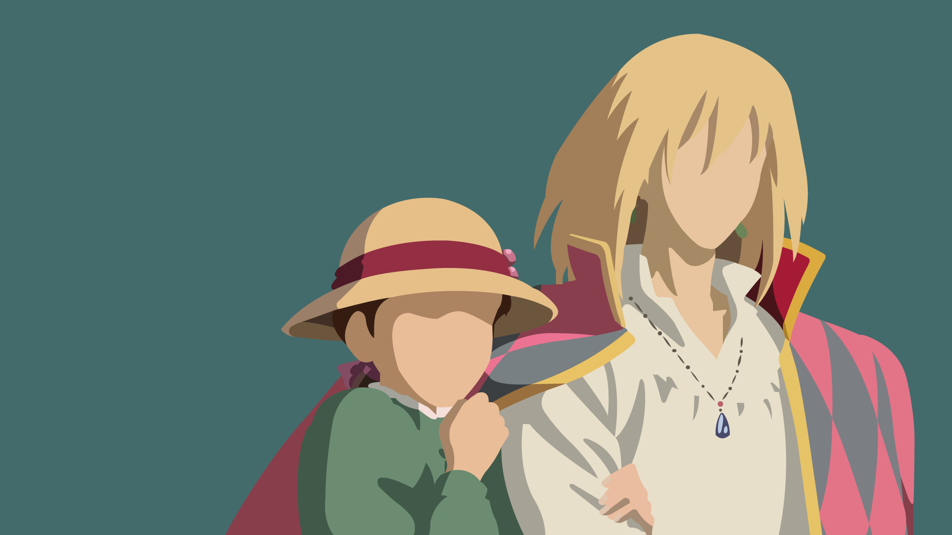 1920x1080 ... Howl and Sophie | Howl's Moving Castle by UzumakiAsh