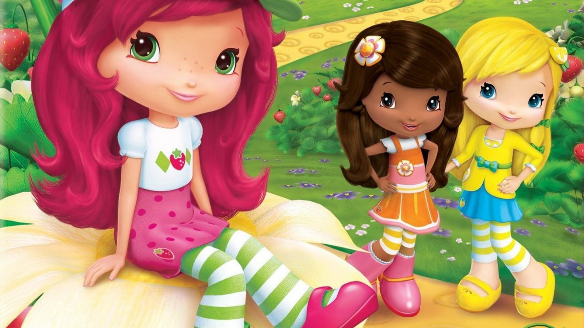 1920x1080 Related Wallpapers from Cute Lilo and Stitch Wallpaper. Strawberry Shortcake