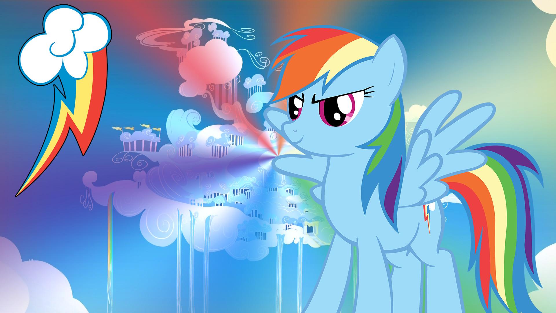 1920x1080 MLP Rainbow Dash Wallpaper | Rainbow Dash - My Little Pony Wallpaper FullHD by mwerec
