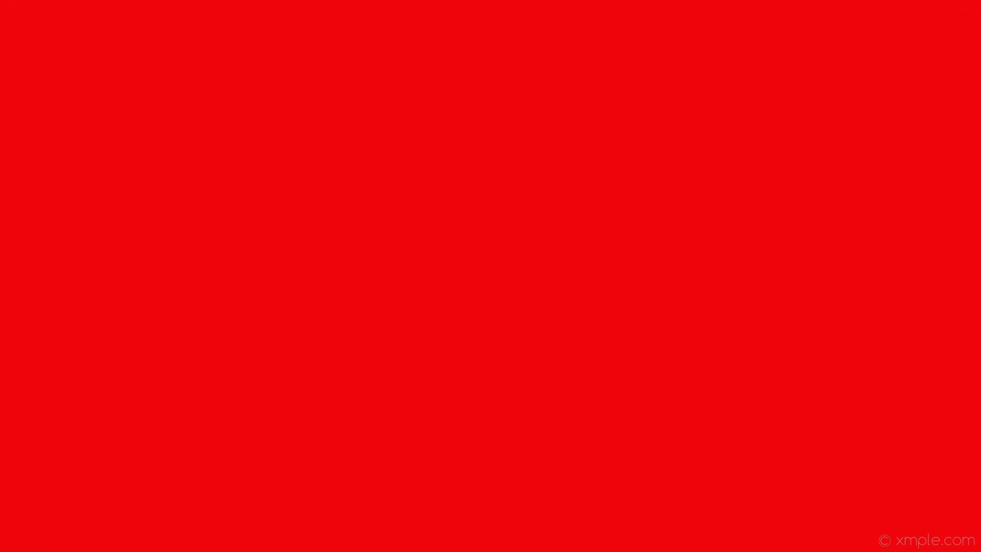 1920x1080 wallpaper plain solid color red one colour single #ee040a