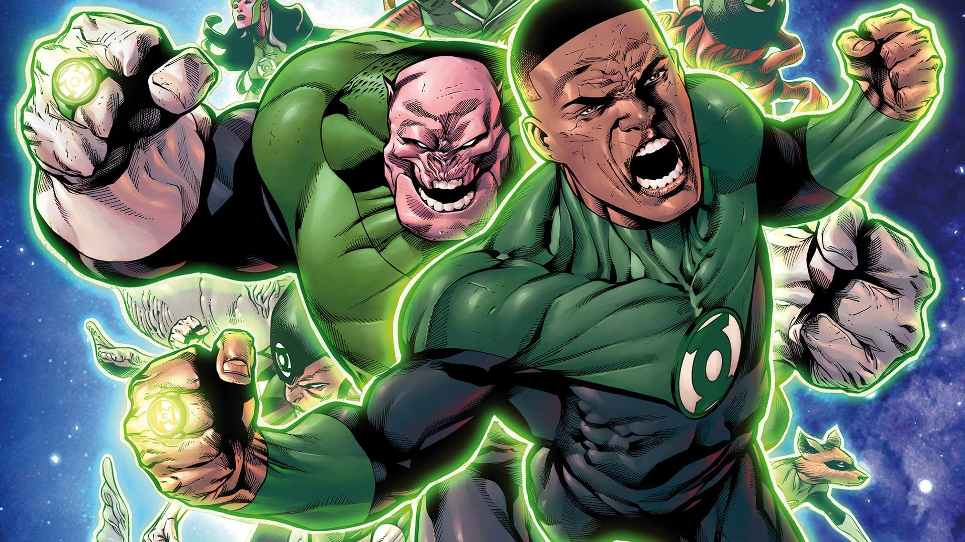 1920x1080 Hal Jordan and the Green Lantern Corps Rebirth: Sinestro's Law