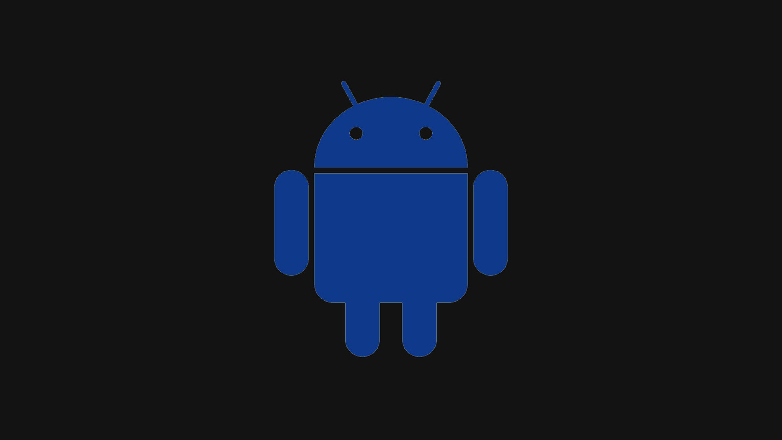 2560x1440 Blue Android Logo Wallpapers