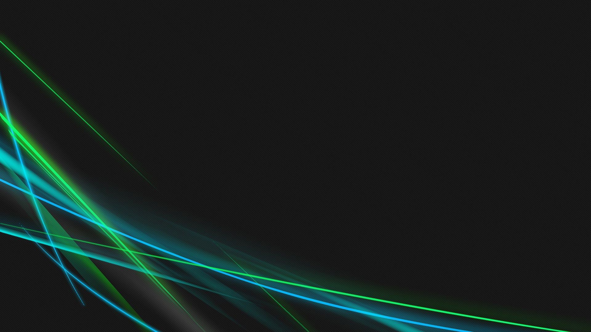 1920x1080 Blue Green Neon Lines HD Wallpaper 1 - 1920 X 1080