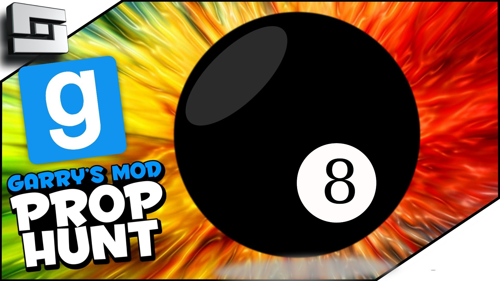 1920x1080 AMAZING 8 BALL! (Gmod Prop Hunt Funny Moments)