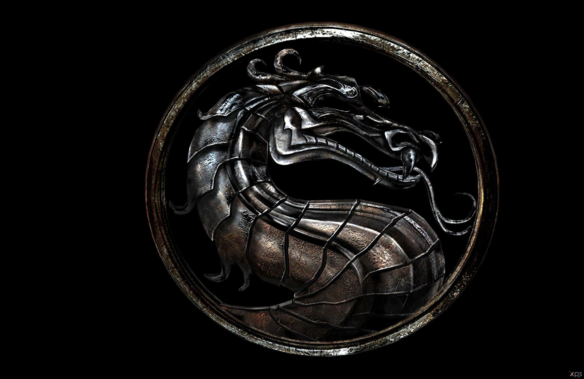 2000x1299 Mortal kombat x logo wallpaper - photo#5