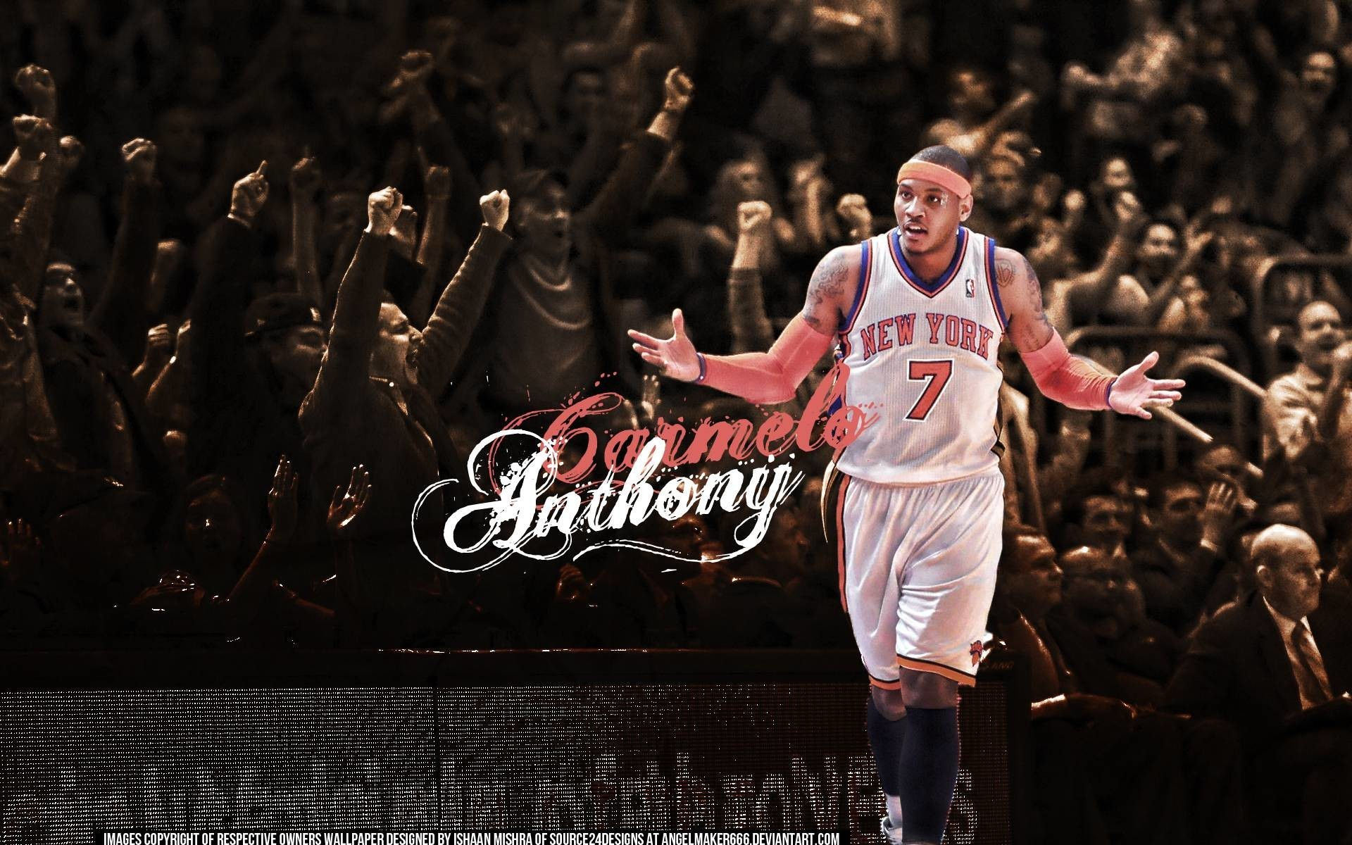 1920x1200  Carmelo Anthony Wallpaper by Angelmaker666 - Full HD Wallpapers
