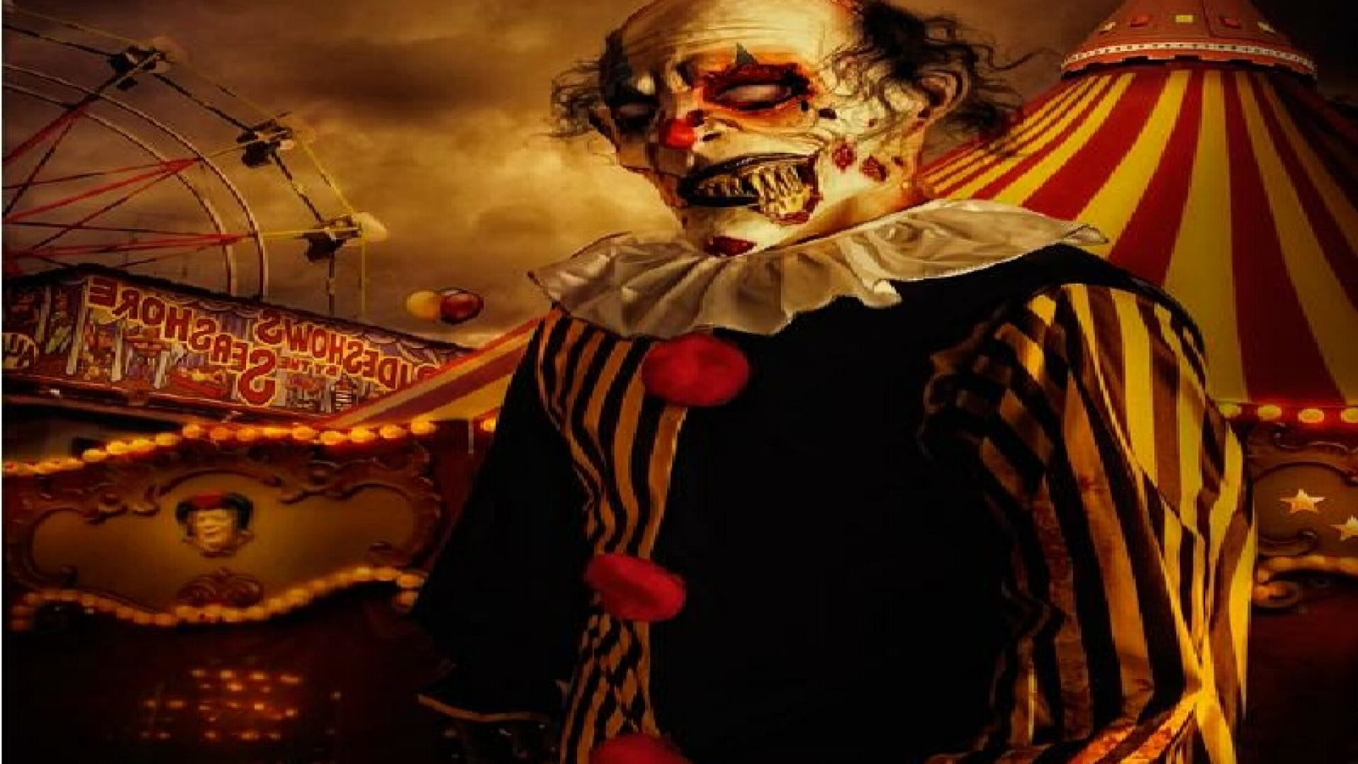 1920x1080 ... Killer Clown Wallpapers (36 Wallpapers) – Adorable Wallpapers Scary ...