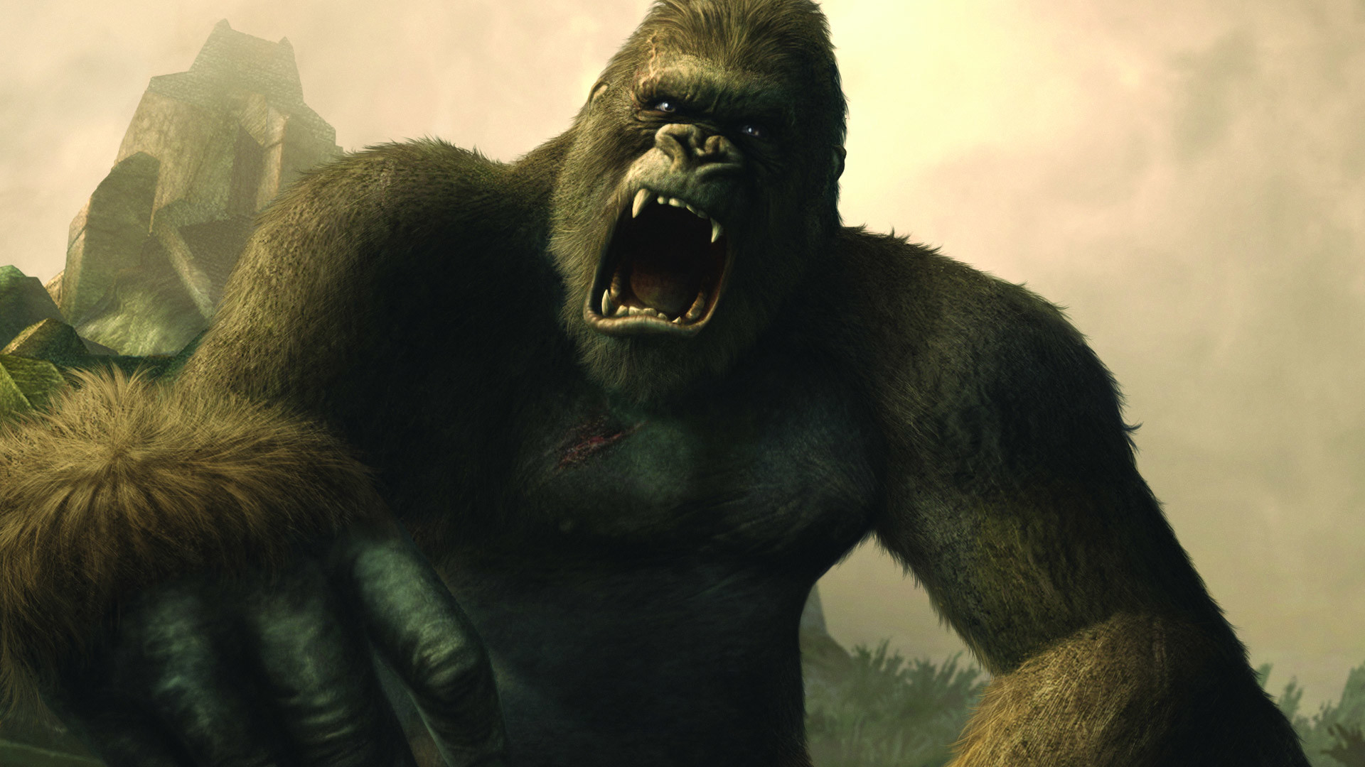 1920x1080 Free Peter Jackson's King Kong: The Official Game of the Movie Wallpaper in