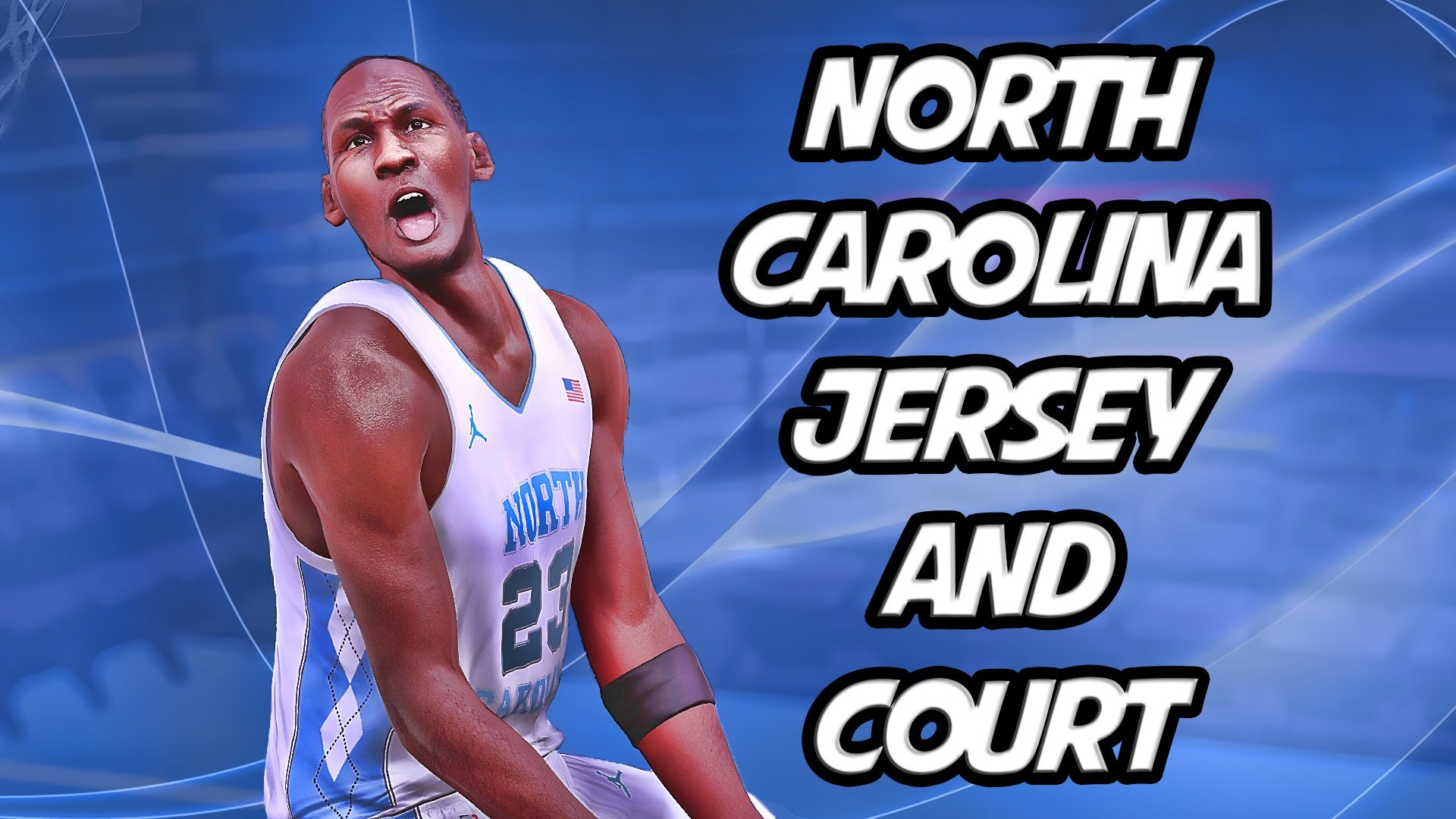 1920x1080 NBA 2K16 MyTeam - North Carolina Tar Heels Jersey and Court Creation!  #MTMadness - YouTube