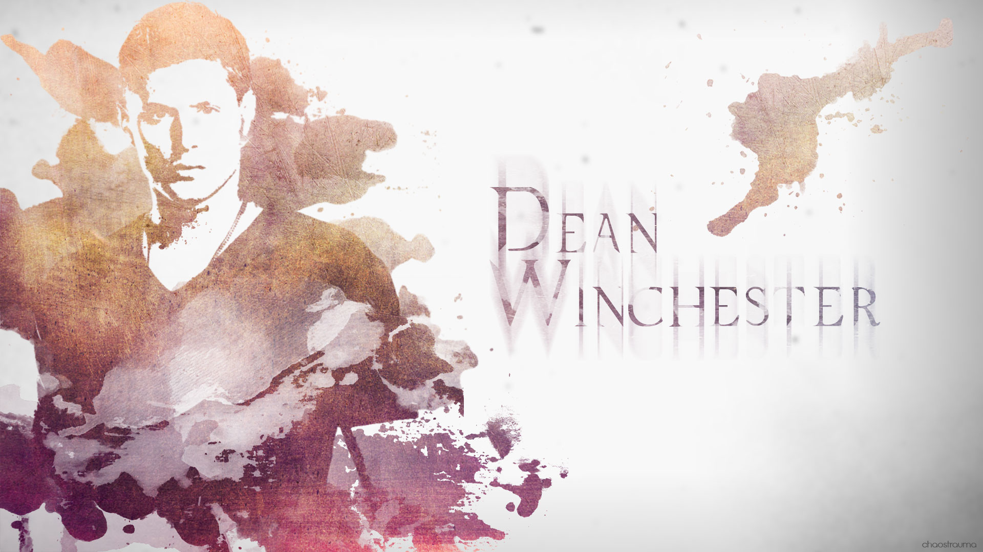 1920x1080 Supernatural Wallpaper - Dean Winchester by chaostrauma Supernatural  Wallpaper - Dean Winchester by chaostrauma