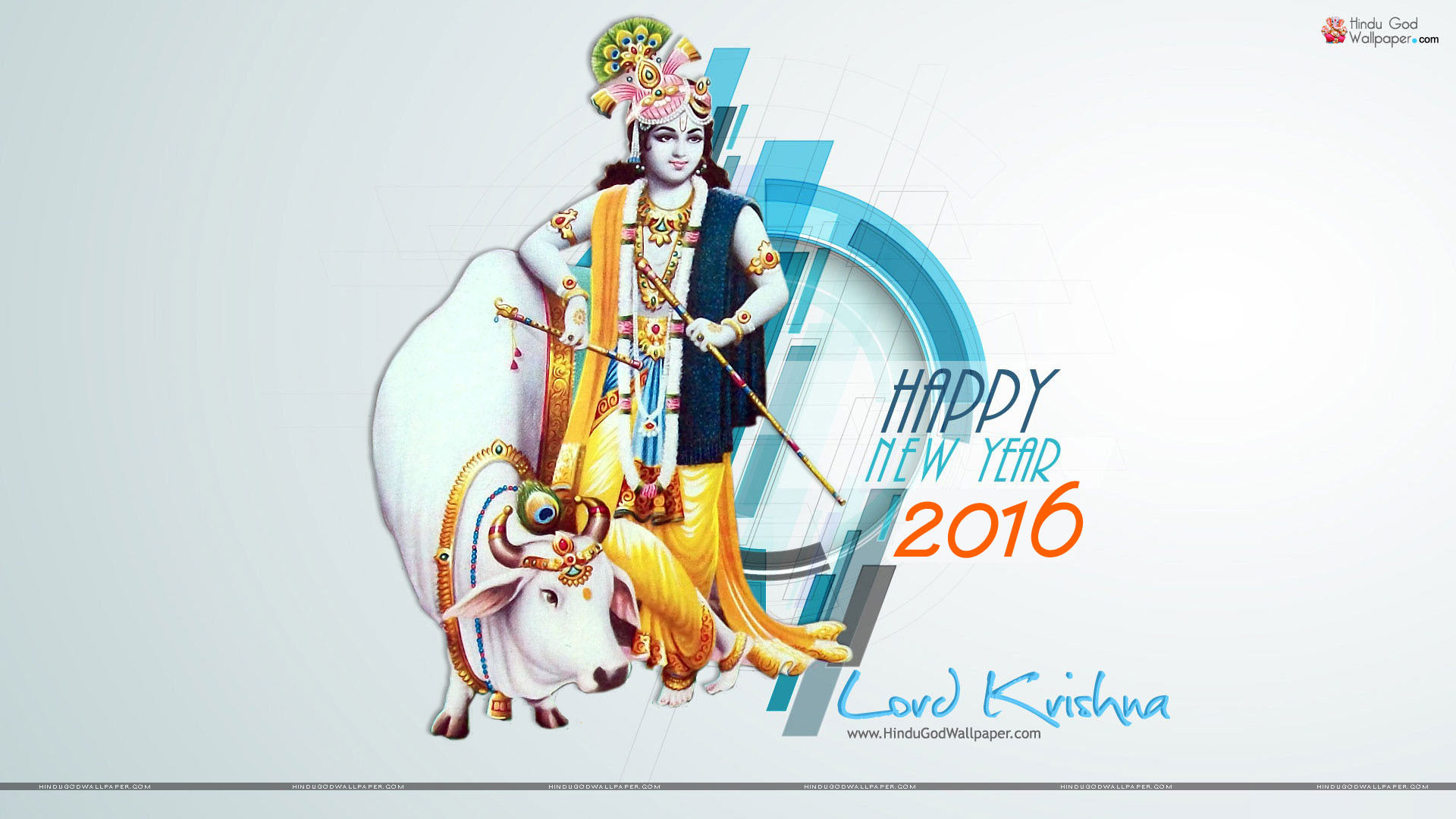 Happy New Year Krishna Image 73