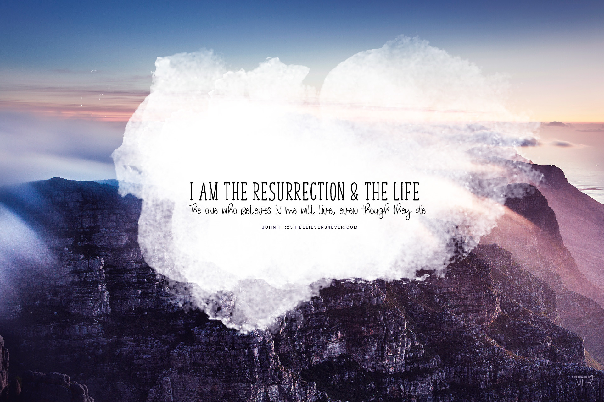1920x1280 I am the resurrection and the life