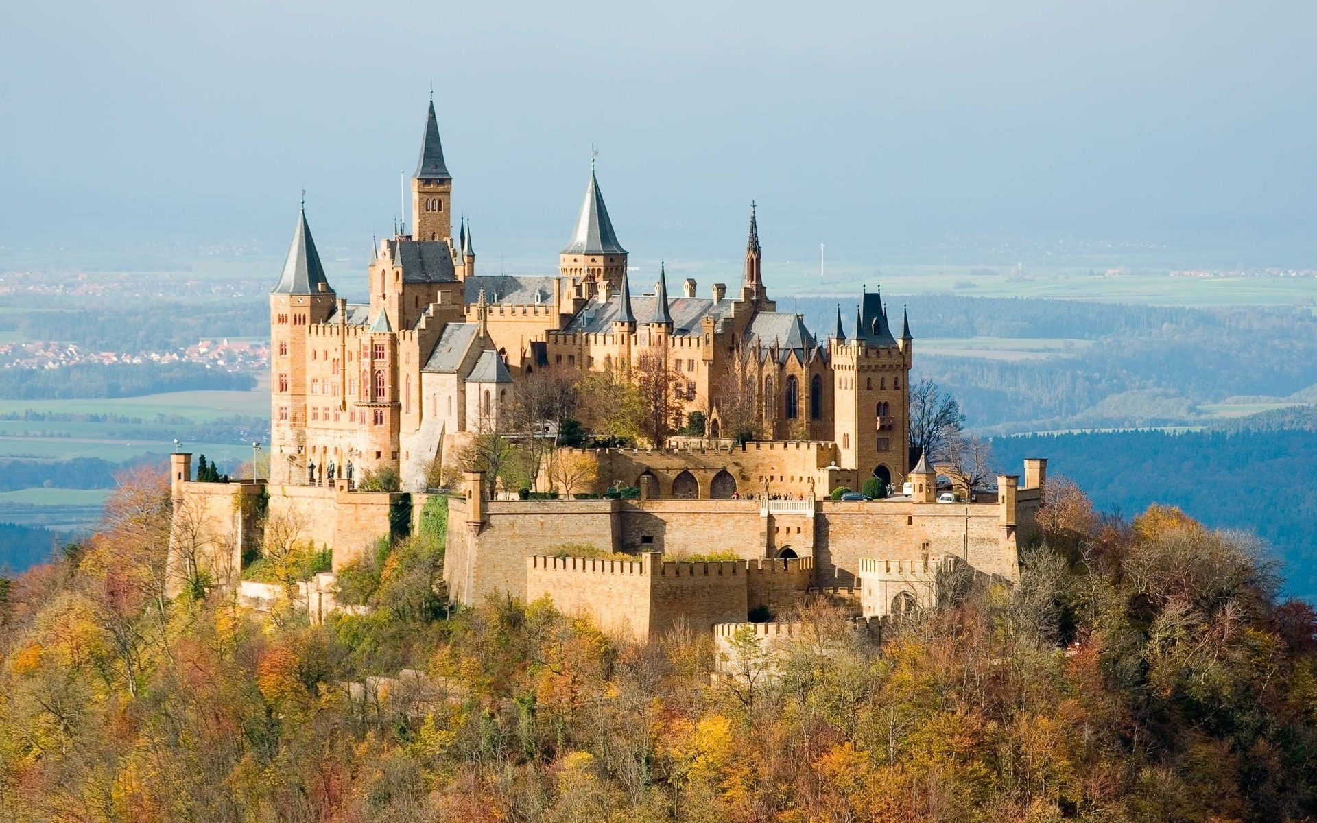 1920x1200 Castle Hohenzollern autumn wallpaper |  | 100515 | WallpaperUP