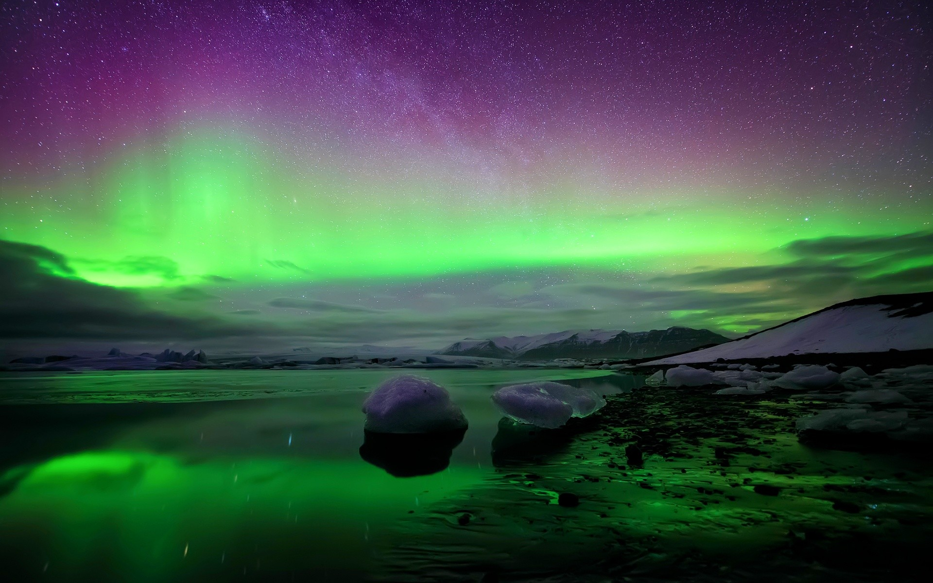 1920x1200 Description: The Wallpaper above is Iceland northern lights Wallpaper in  Resolution . Choose your
