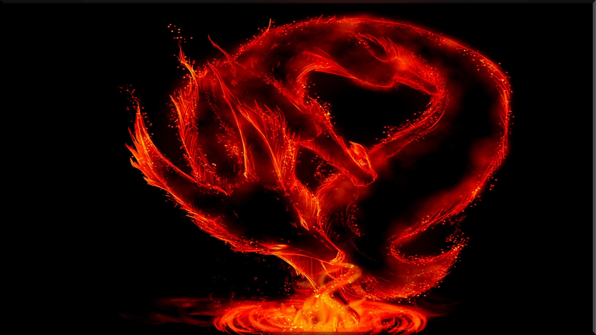 Red Fire Dragon: Red Dragon Wallpaper HD (65+ Images