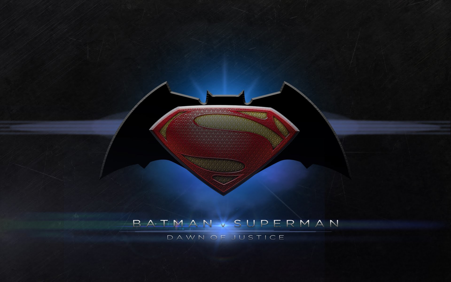 1920x1200 Batman vs Superman Logo