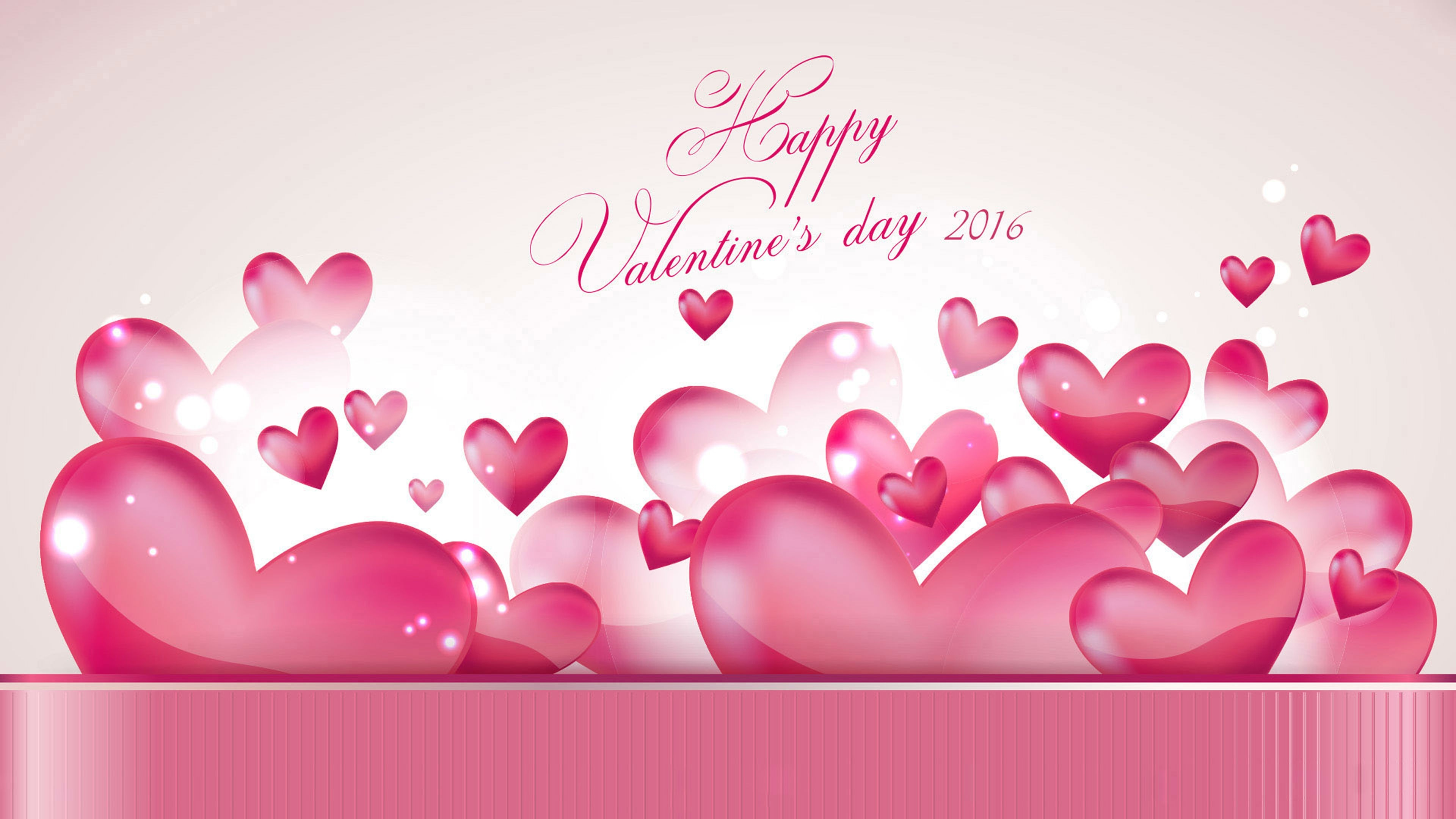 3840x2160 Happy-Valentines-Day-Pink-Heart-HD-HD-Get-free-high…-wallpaper-wpc9205701
