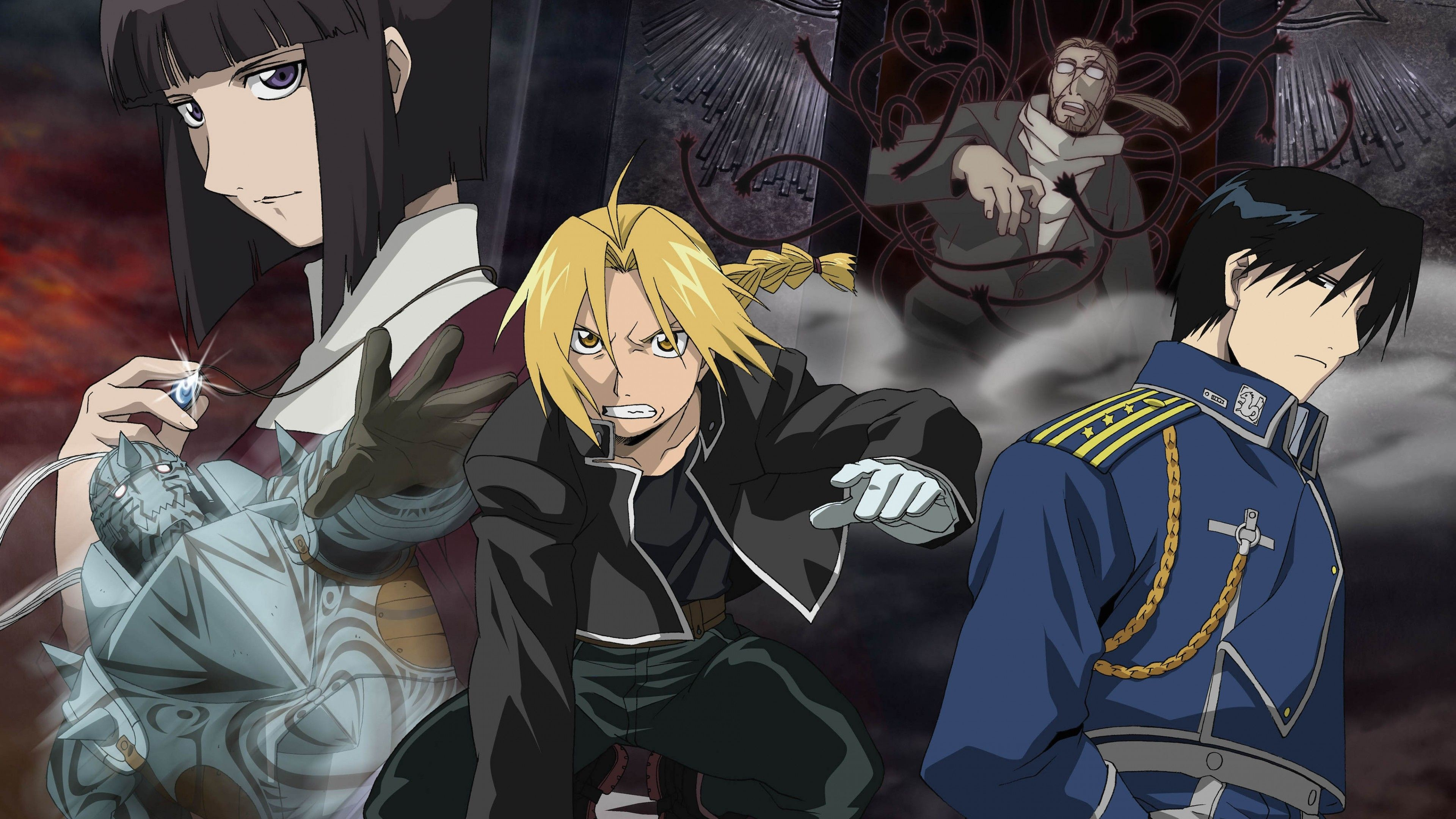 3840x2160 Fullmetal Alchemist HD wallpaper for 4K 3840 x 2160 - HDwallpapers.net Read  Full Metal Alchemist Manga Online | Discuss FMA on MangaGrounds