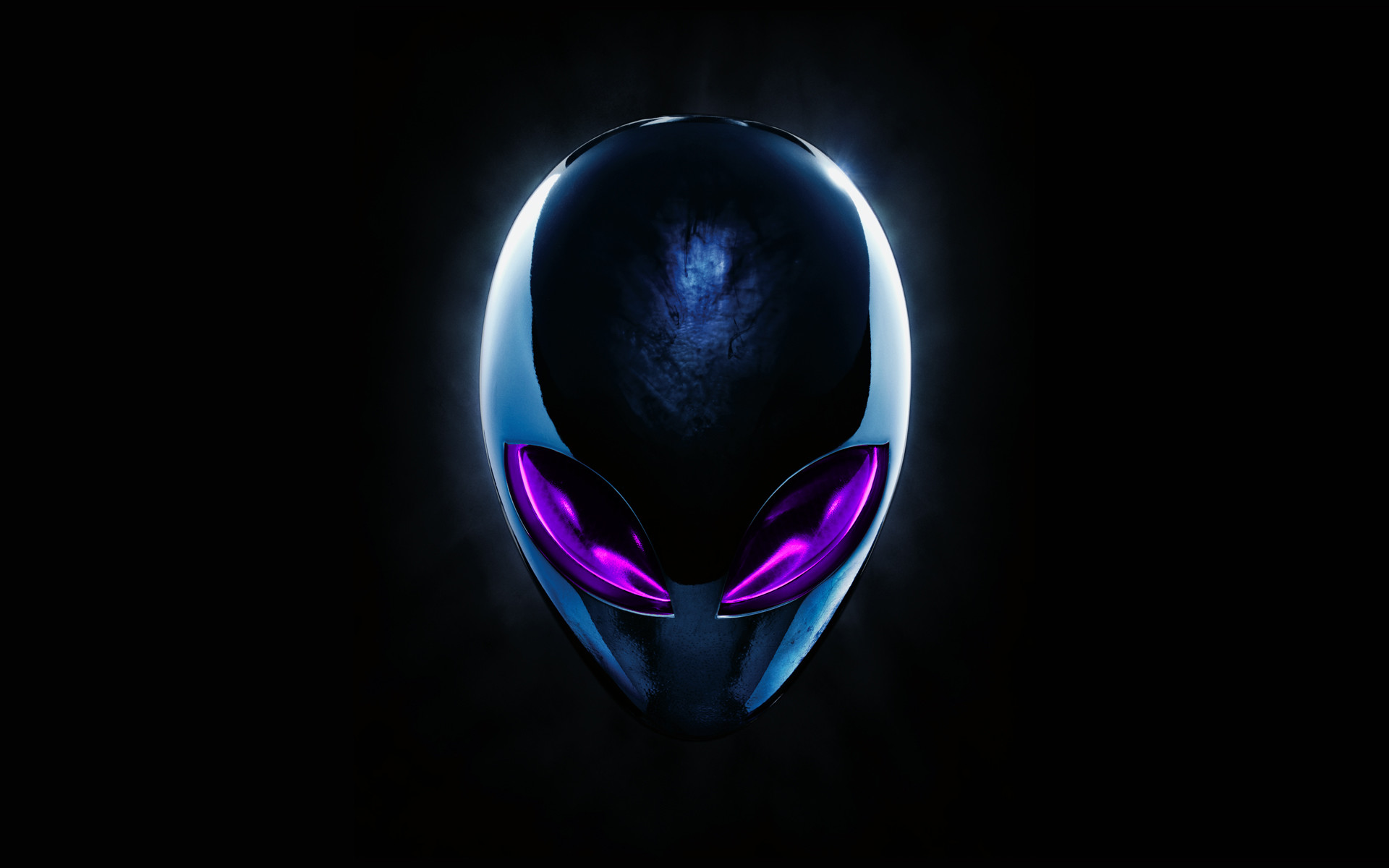 1920x1200 Alienware Skull Logo Wallpaper
