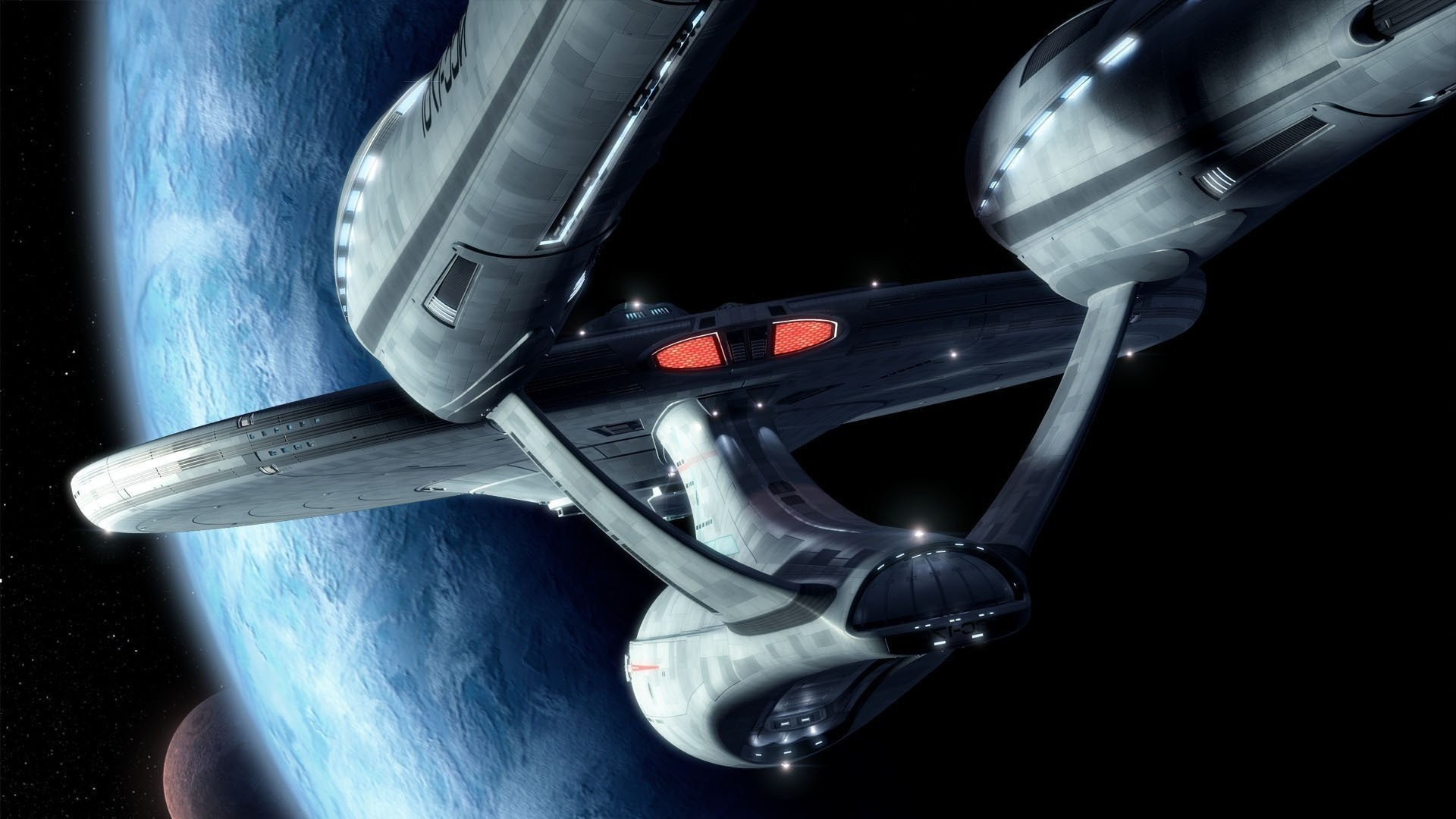 1920x1080 Star Trek, Space, USS Enterprise (spaceship) Wallpapers HD / Desktop and  Mobile Backgrounds