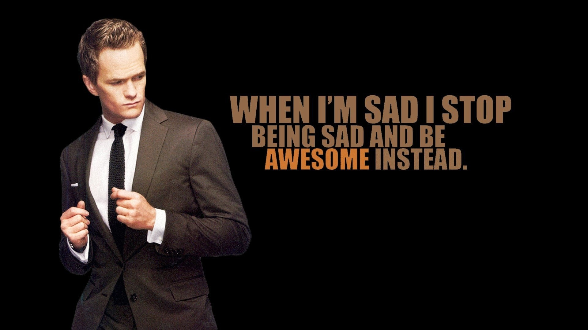 1920x1080 How I Met Your Mother Neil Patrick Harris Barney Stinson