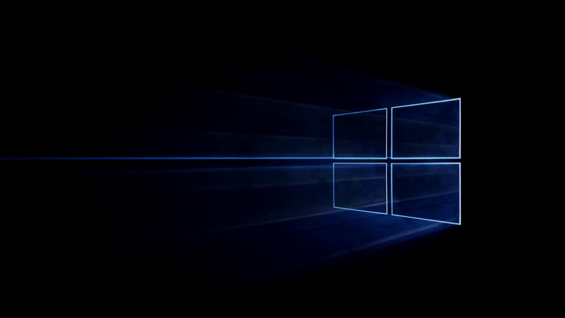 1920x1080 Windows 10 Desktop Is Black 10 Hd Wallpaper