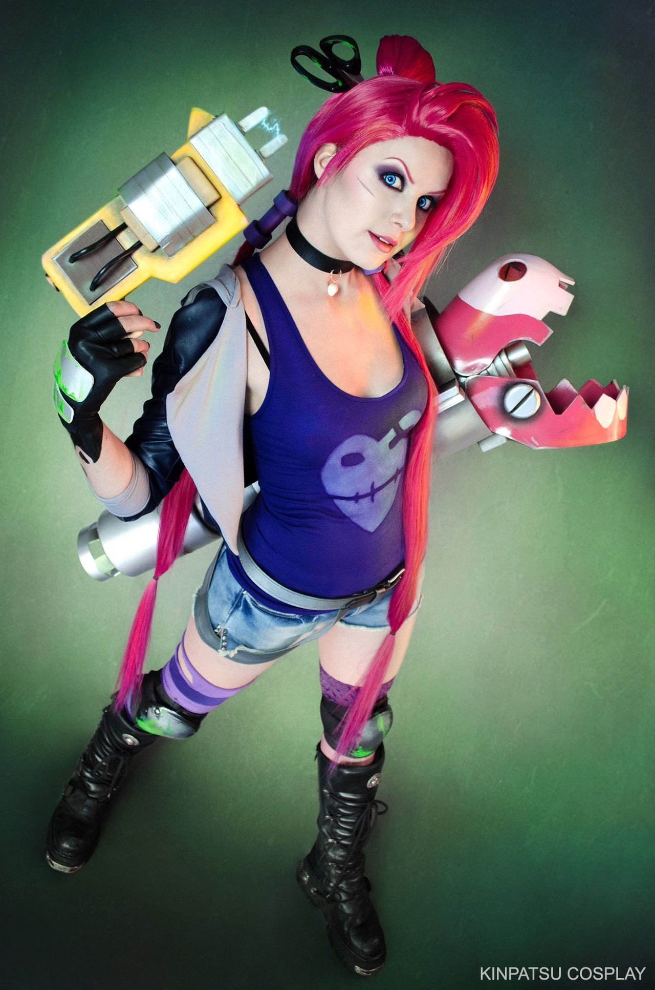 1280x1932 Slayer Jinx - League of Legends by Kinpatsu-Cosplay.deviantart.com on  @DeviantArt