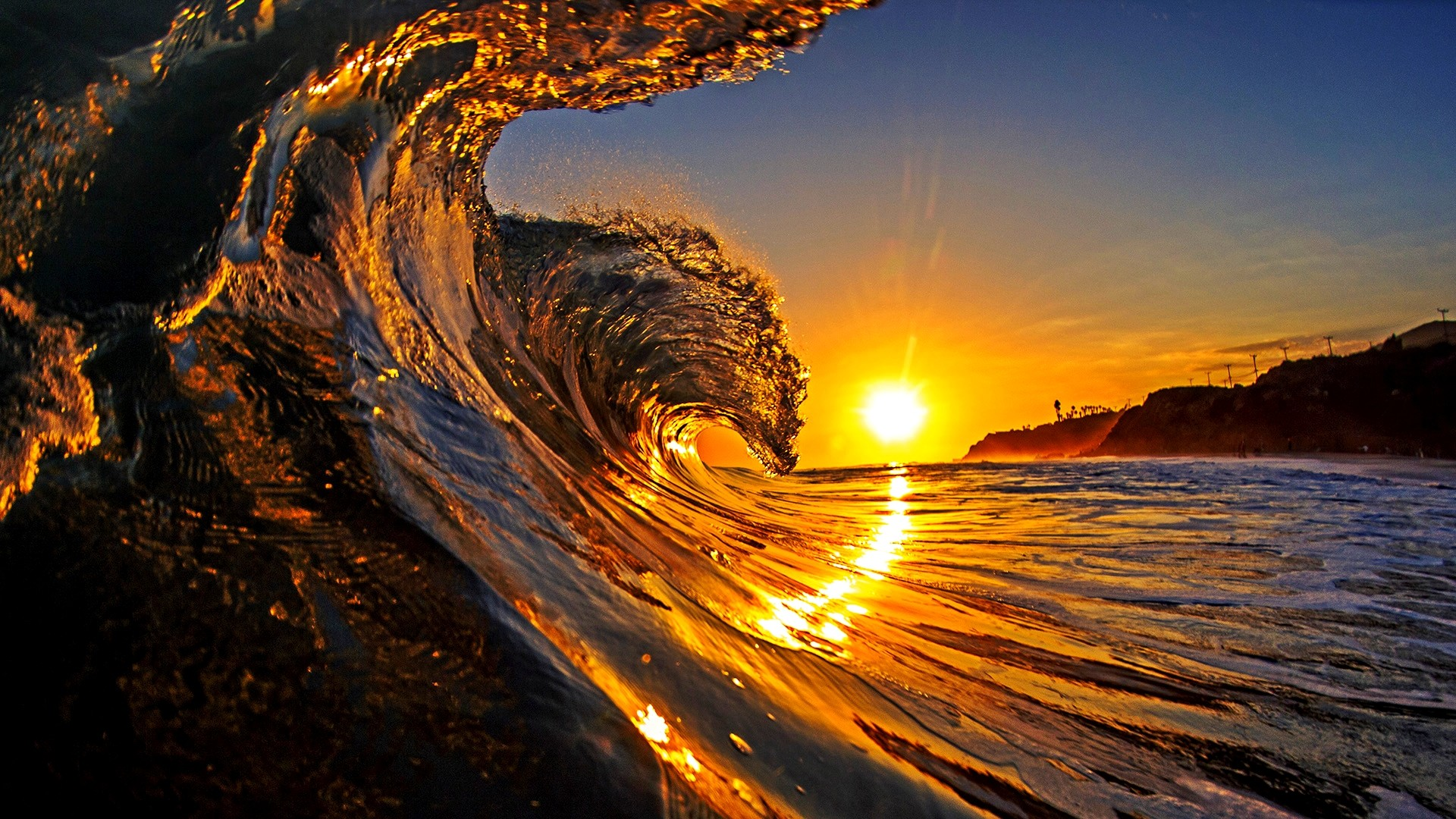 1920x1080 Wave Wallpaper Cool Desktop Background Wave 2014 Wallpaper Download