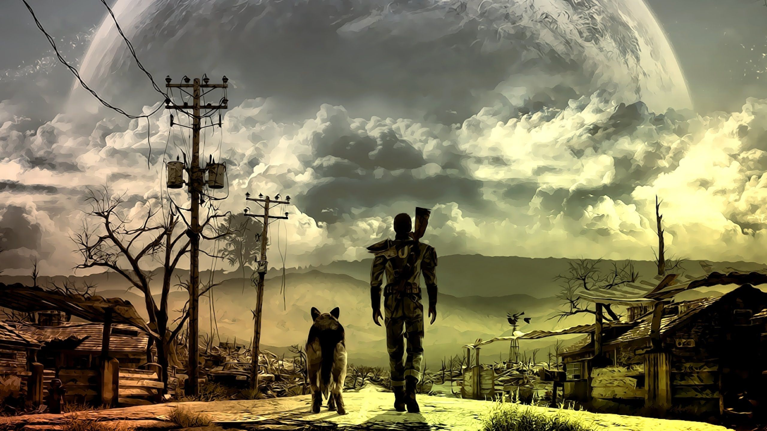 how to get fallout 4 to be fullscreen pc