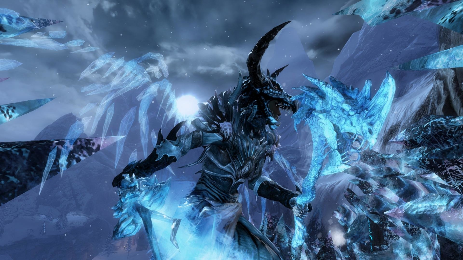 1920x1080 wallpaper.wiki-Ice-Dragon-Wallpaper-HD-PIC-WPE004885