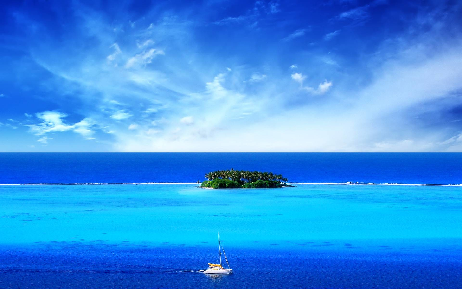 1920x1200 Perfect Island wallpaper for your
