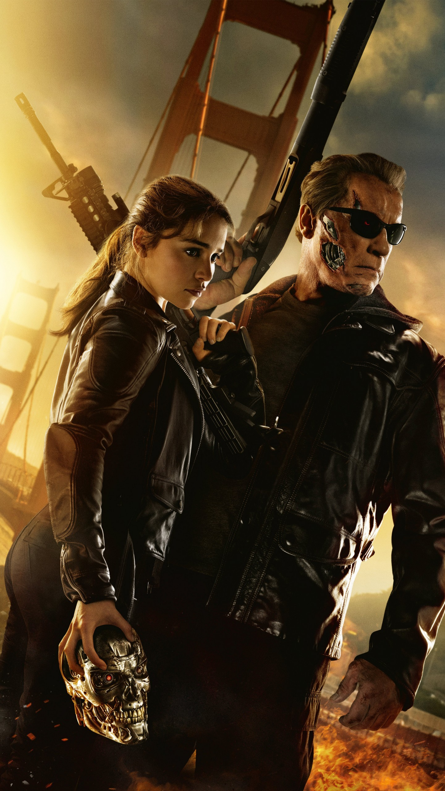 1440x2560 Movies / Terminator Genisys Wallpaper