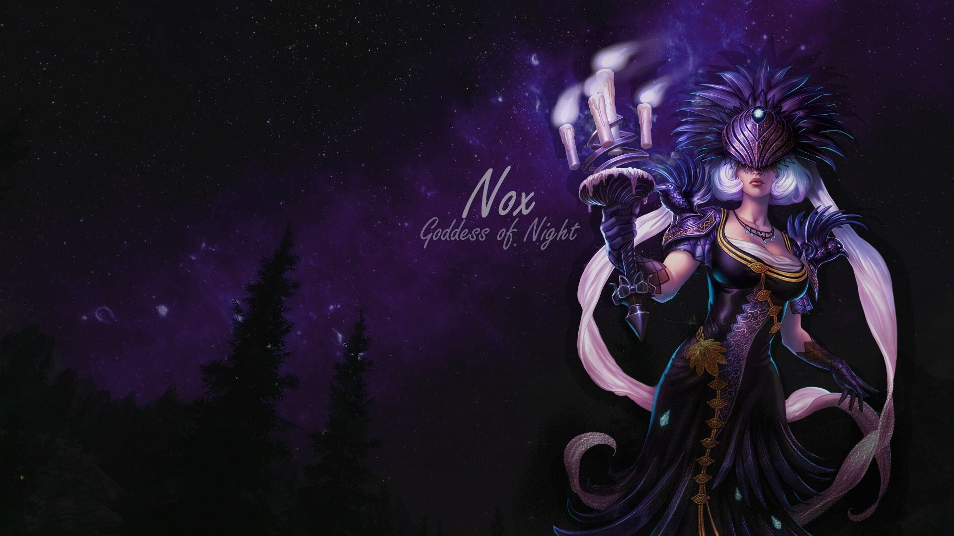 "1920x1080 MEDIAI don't ""like"" Nox, I'm obsessed (I made a wallpaper ) ..."