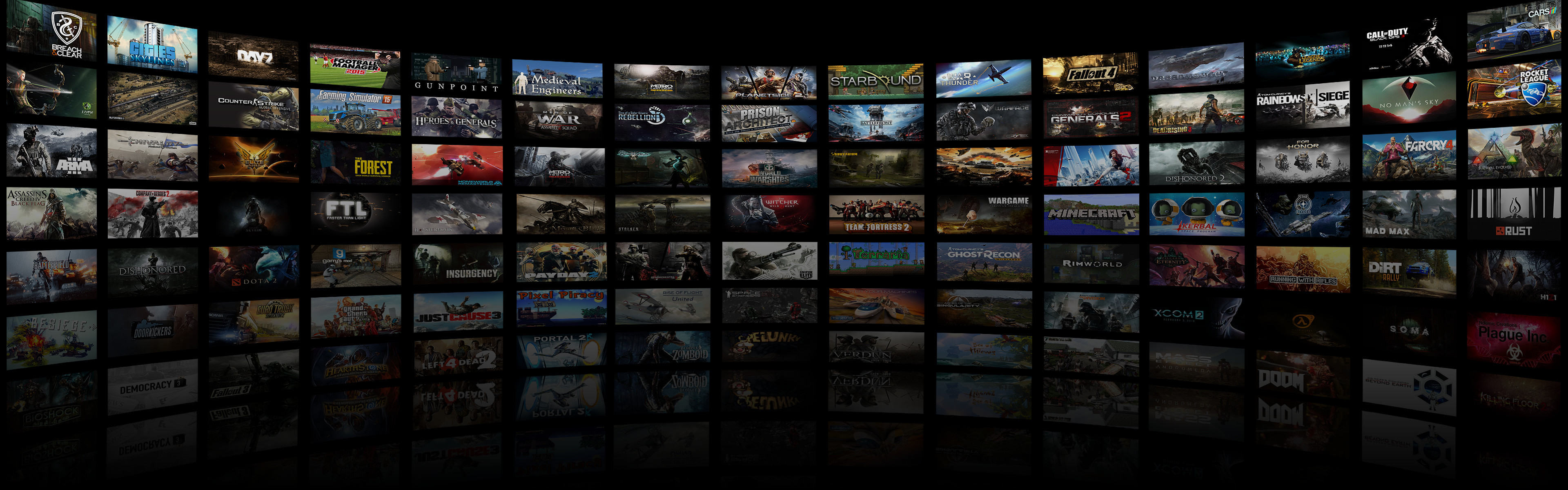 3840x1200 ... Dual Monitor Game Montage Wallpaper 2 by DarkXess
