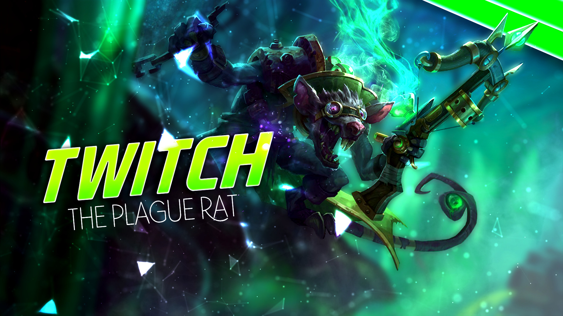 1920x1080 ... Twitch The Plague Rat wallpaper! by scuppypuppy