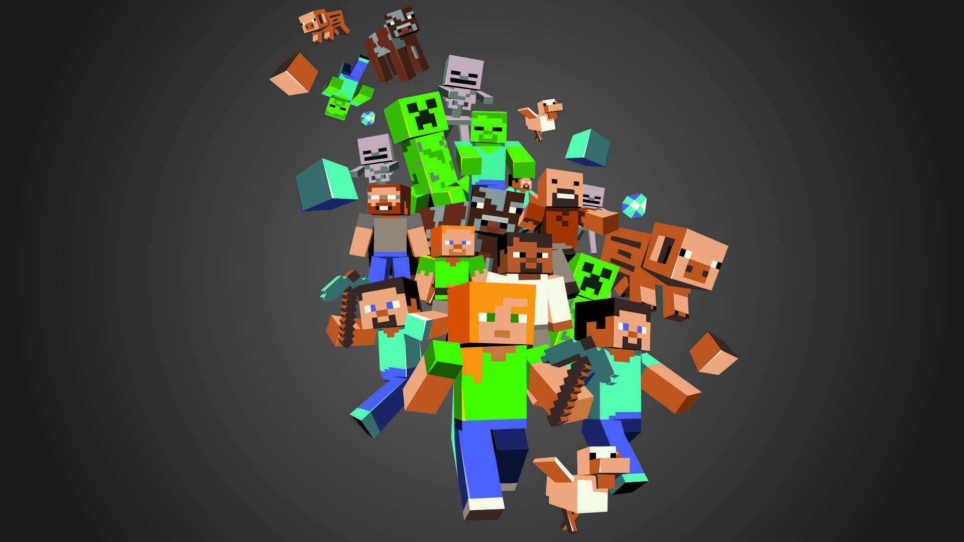1920x1080 Minecraft Wallpapers Cube Halloween Hd Background Free Amazing Cool Smart Phone 4k High Definition 1920A 1080 Wallpaper HD