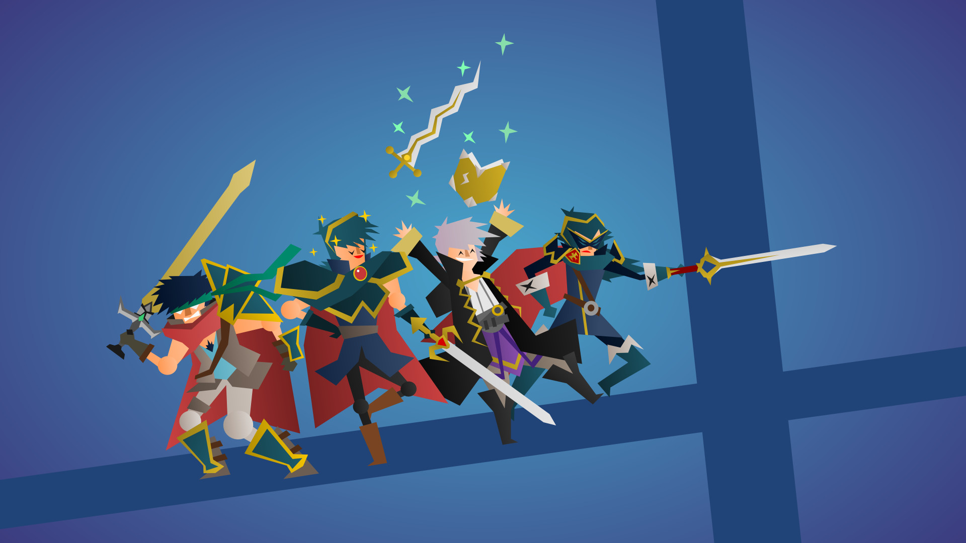 1920x1080 Made another pic: Fire Emblem Smashers! Tell me what you think ;*
