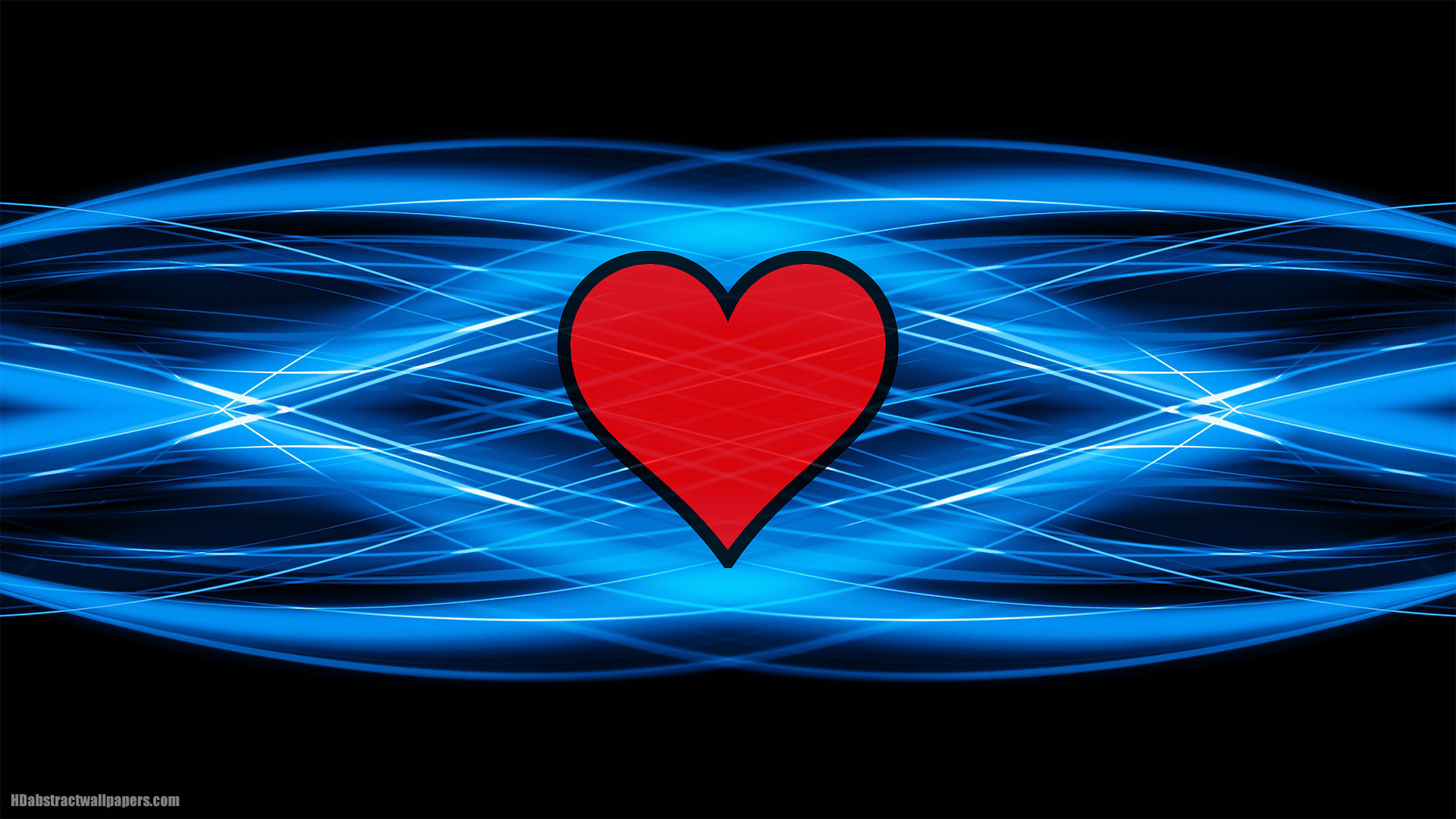 Abstract Wallpaper Black Hearts Blue 3d And Hd Wallpaper: Blue Heart Wallpaper (70+ Images