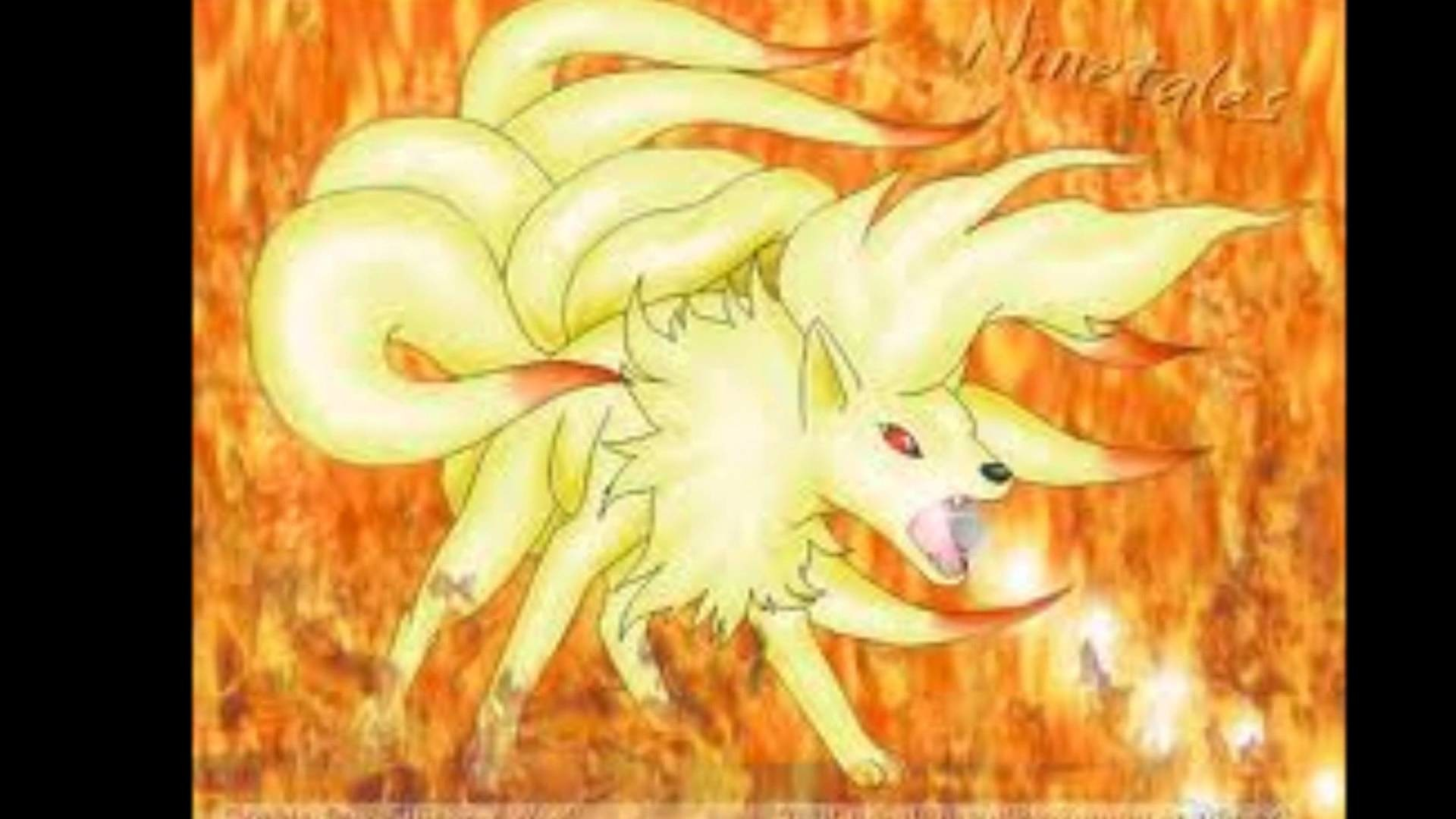 1920x1080 Pokemon: Ninetales and Arcanine - Miracle