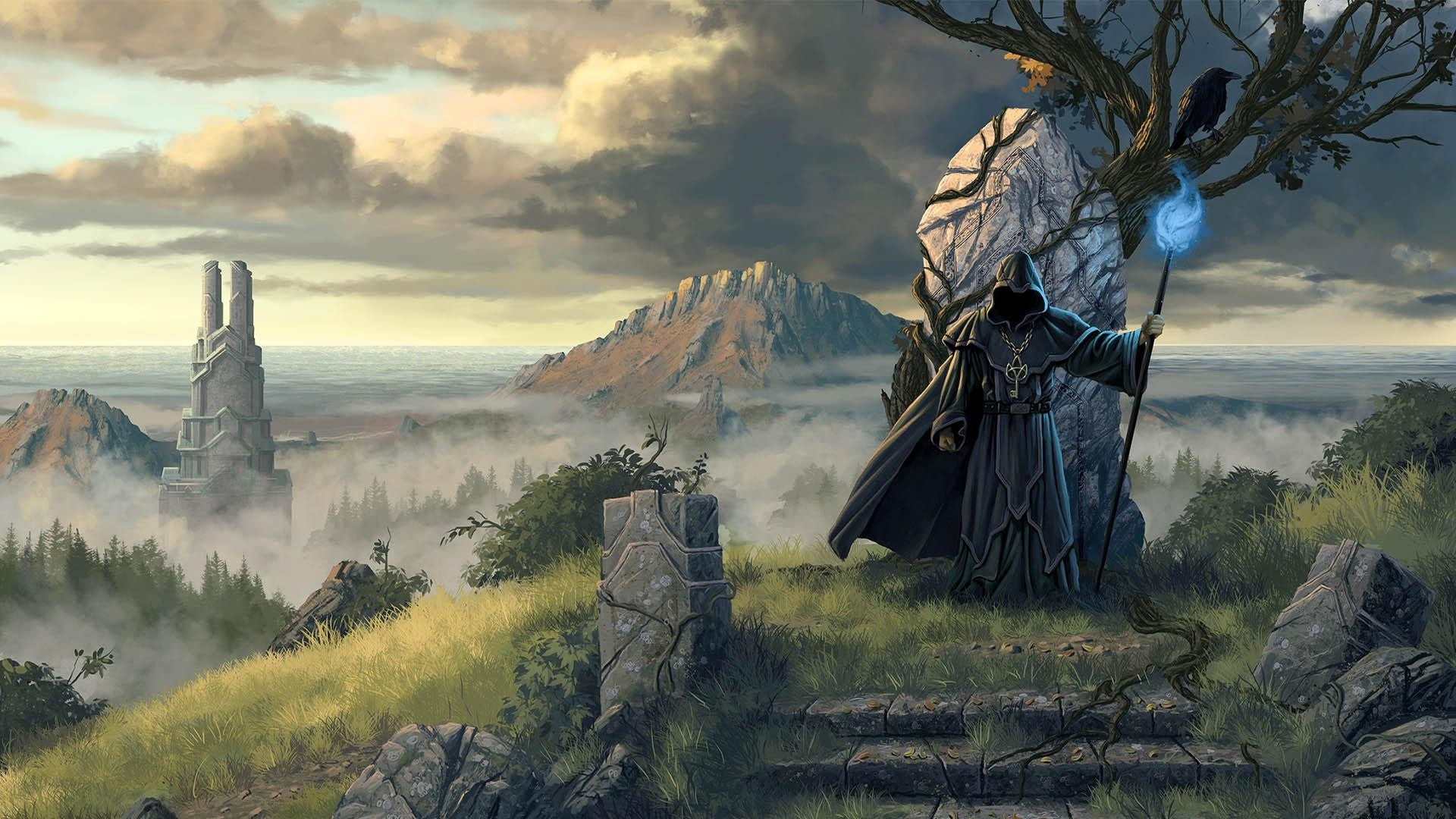 Fantasy Art Necromancers Wallpapers Hd Desktop And: Wizard Wallpapers (74+ Images
