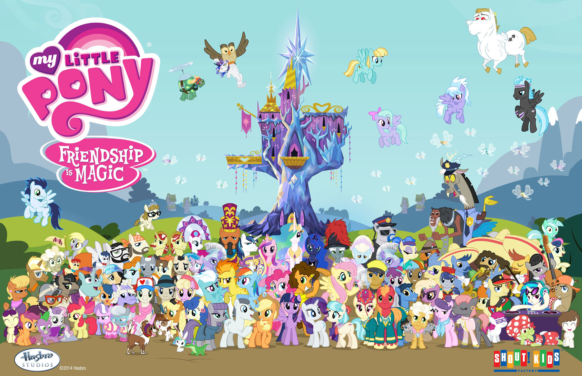 Mlp Fim Wallpapers 79 Images