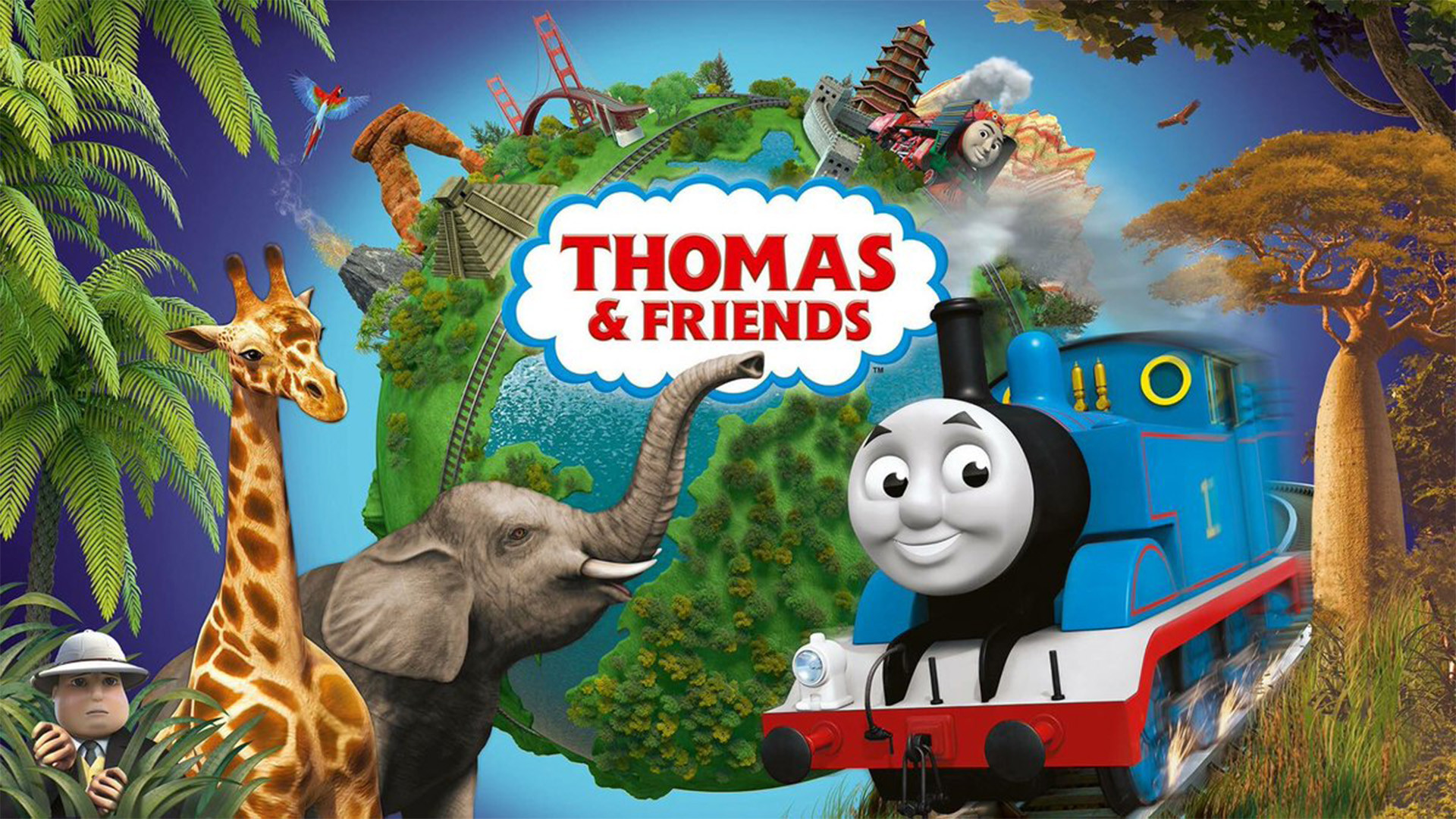 1920x1080 Thomas the Tank Engine to Become Gender-Balanced with more Female Trains,  an African Character and Episodes Abroad