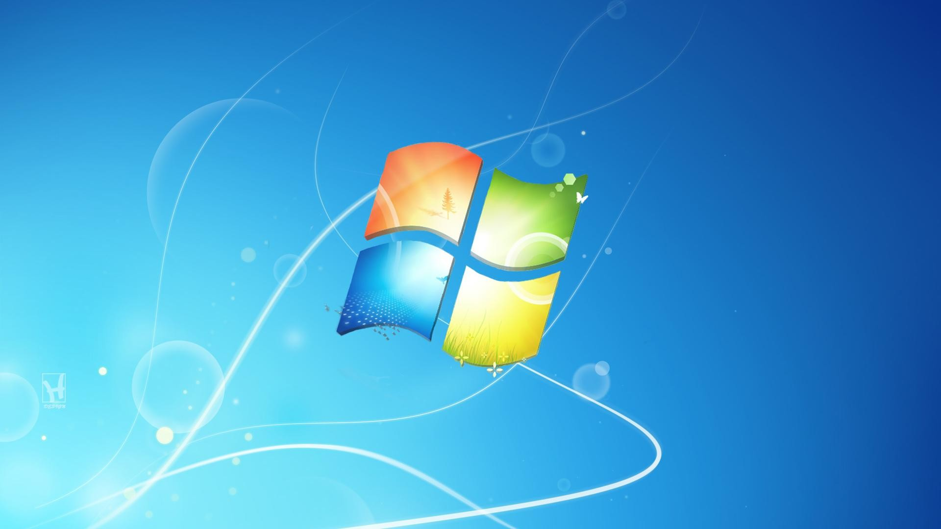 1920x1080 cool blue background windows xp system