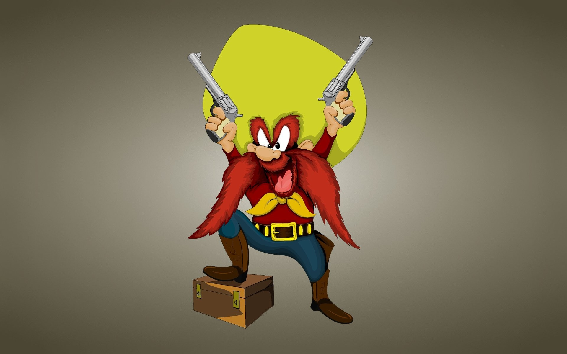 1920x1200 looney tunes funny ringtones looney tunes yosemite sam uncontrollable sam  texas bandit or a pirate with