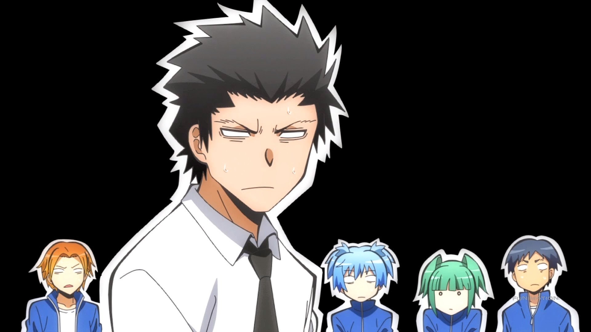 1920x1080 Karasuma-sensei and E-Class - Assassination Classroom