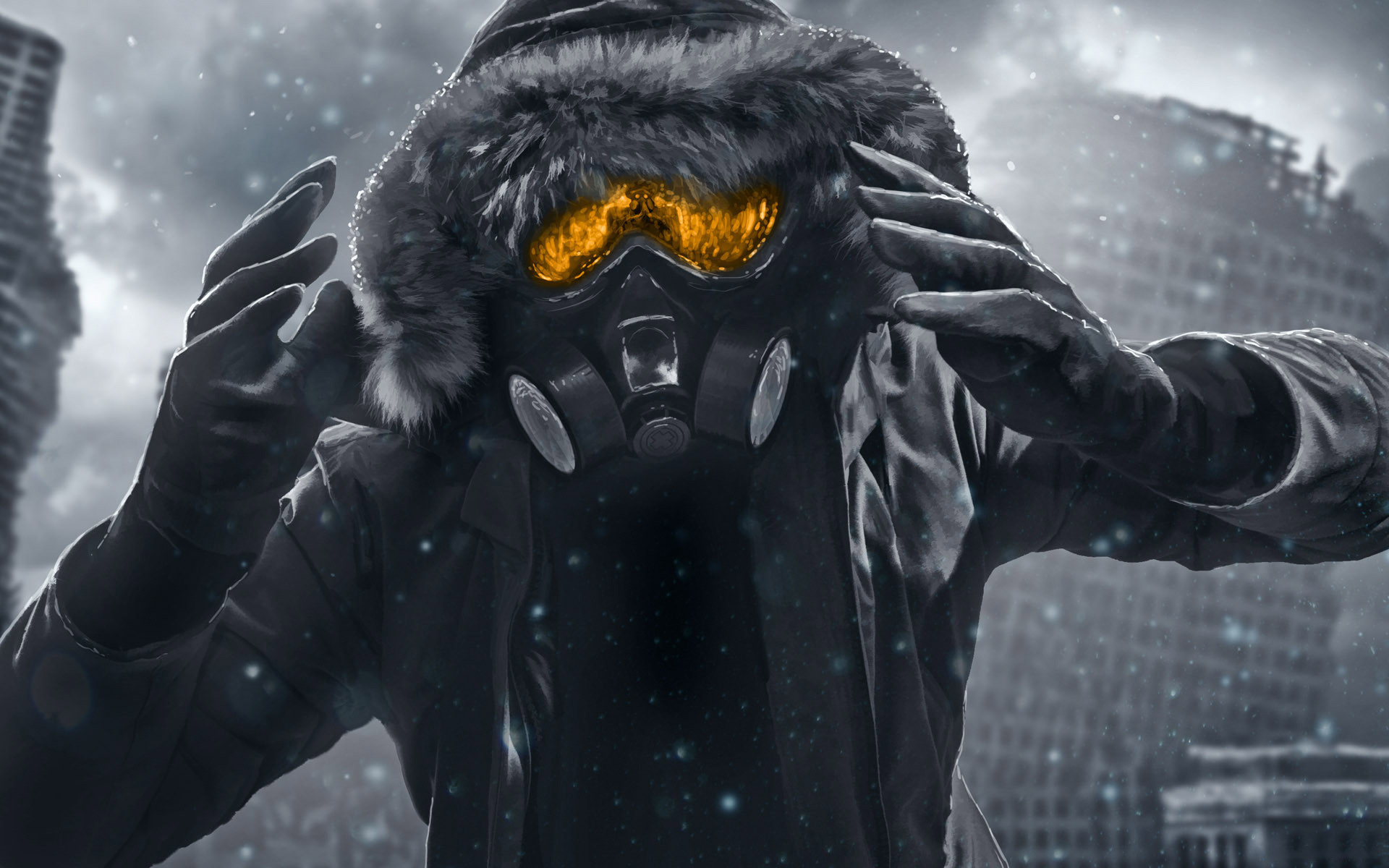 Cool Gas Mask Wallpapers (63+ images)