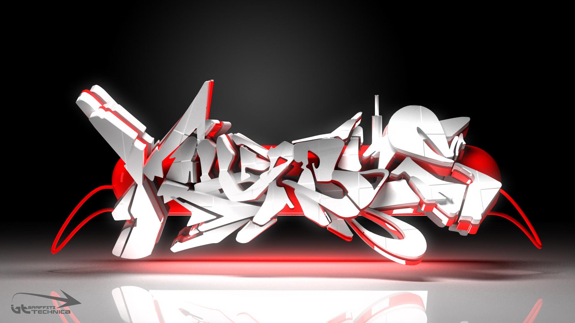 3D Graffiti Wallpapers 76 Images