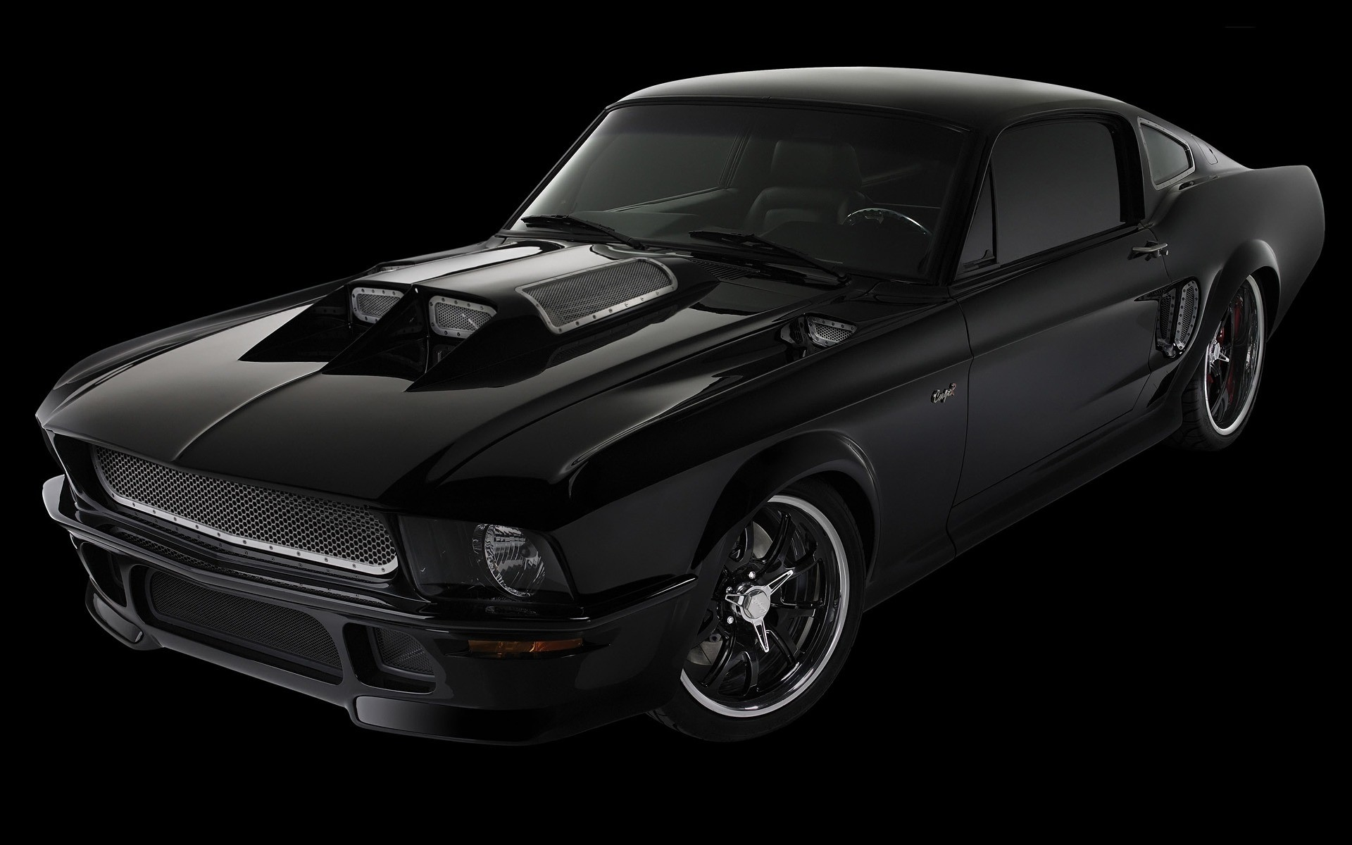 1920x1200 Obsidian Ford Mustang Wallpaper Ford Cars Wallpapers
